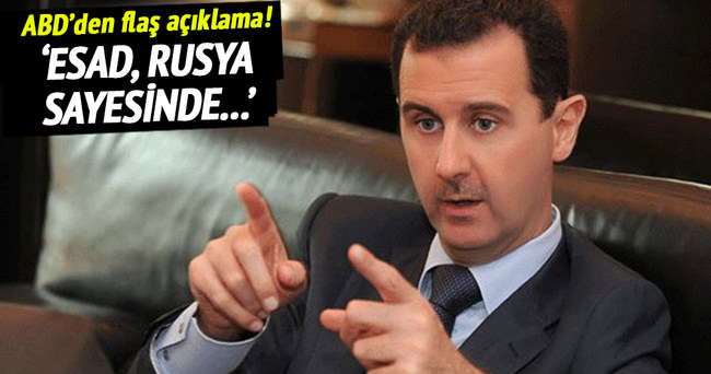 Esad, Rusya sayesinde istikrar kazandı