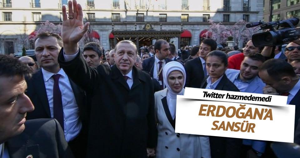 Erdoğan'a yoğun ilgi Twitter'ı rahatsız etti