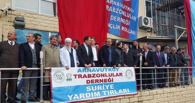 Arnavutköy'den Suriye'ye yardım eli