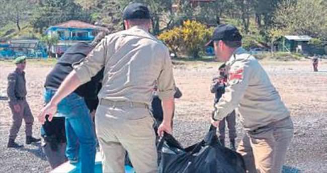 Kumluca'da erkek cesedi bulundu
