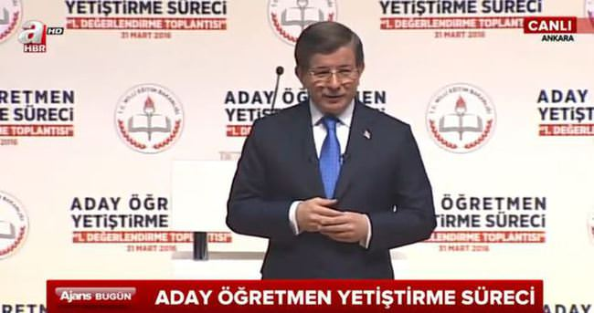 Başbakan Davutoğlu konuşuyor - CANLI