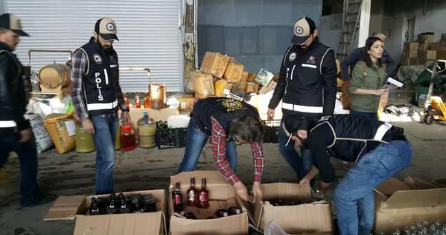 Barmen evini bira imalathanesine çevirmiş