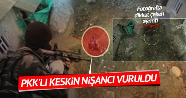 PKK'lı keskin nişancılar tek tek öldürülüyor!
