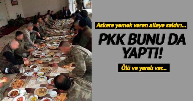 Askere yemek veren Aslan Tatar'ın akrabalarına saldırı!