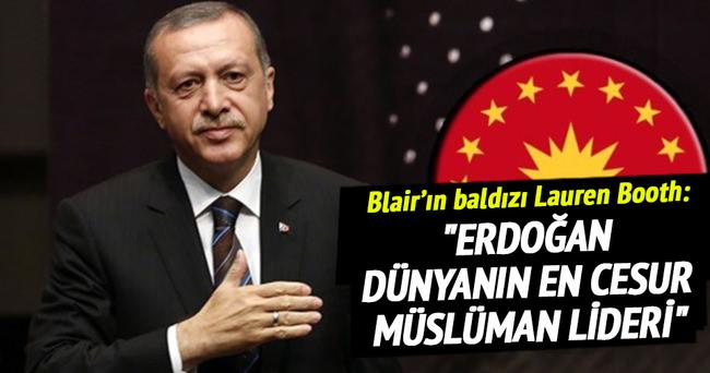 Booth: Erdoğan Müslümanların en cesur lideri