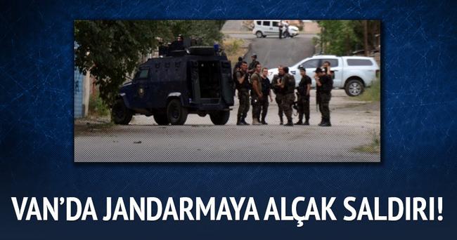 Van'da Jandarma Komutanlığına roketli saldırı