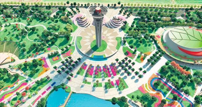 Rotayı Dubai Expo'ya çevirdi