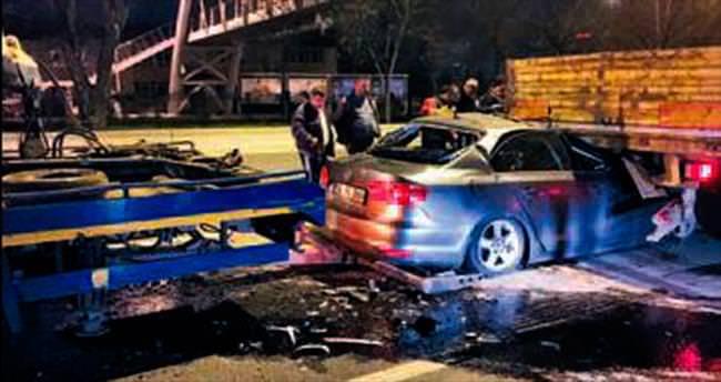 Konya Yolu'nda ölümlü kaza