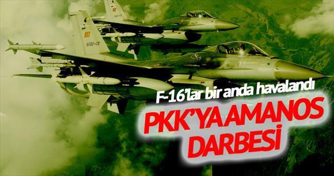 PKK'ya Amanos darbesi