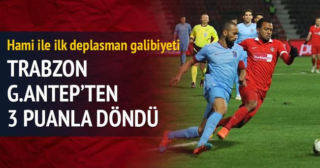 Trabzonspor G.Antep'ten 3 puanla döndü