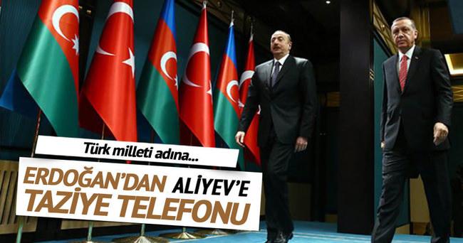 Erdoğan'dan kardeş ülkeye taziye