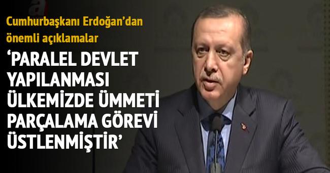 Cumhurbaşkanı Erdoğan: Paralel yapının gerçek yüzü milletimiz tarafından görüldü