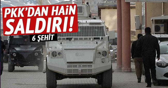 Mardin'de patlama: 6 şehit