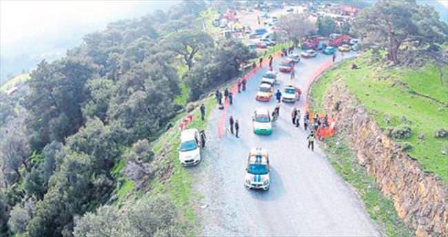 Karşıyaka'da ralli heyecanı yaşandı