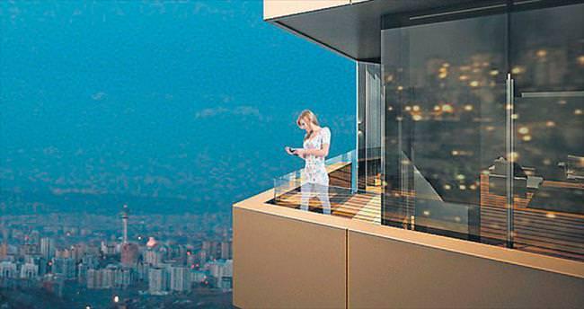 48'inci katta bile rüzgâra meydan okuyan proje