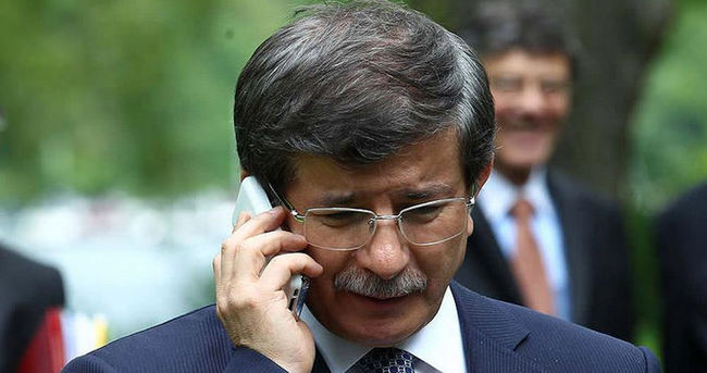 Davutoğlu'ndan Aliyev'e taziye telefonu
