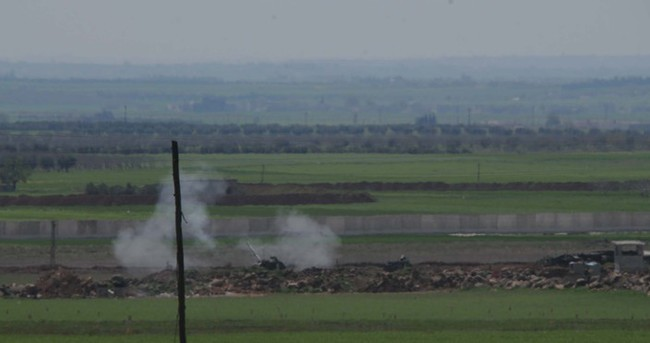 IŞİD hedefleri obüslerle vurulmaya devam ediyor