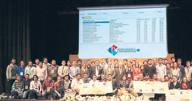 Hasan Kalyoncu'da spagetti yarışması yapıldı