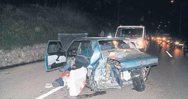 Turgutlu'daki kazada 6 kişi hafif yaralandı