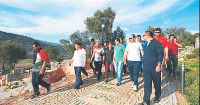 Likya Yolu tanıtım turu düzenlendi