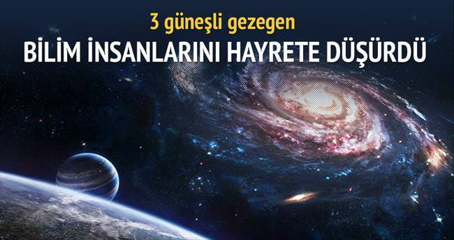 3 güneşli gezegen: KELT-4Ab