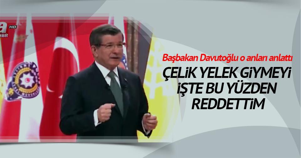 Başbakan Davutoğlu Polis Akademisi'nde konuştu