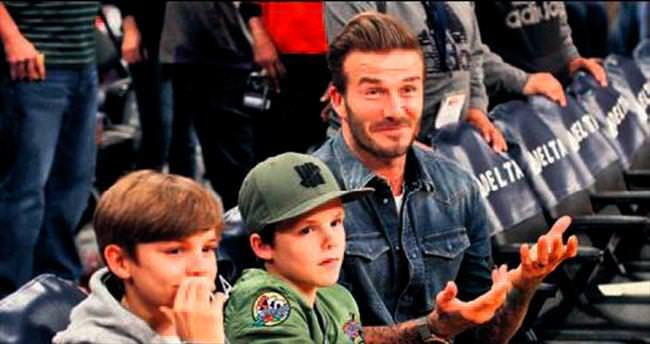 Beckhamların desteği Lakers'a yetmedi