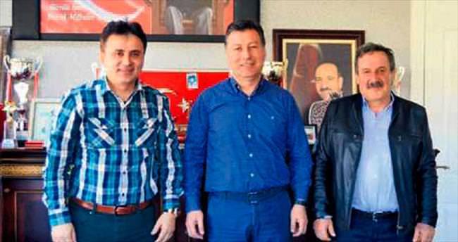 Başkan Çal'a destek ziyareti