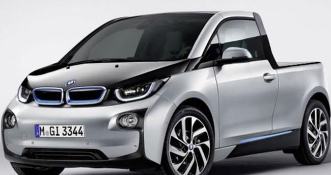 BMW'den elektrikli pick-up sürprizi