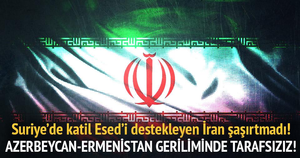 Suriye'de katil Esed'i destekleyen İran şaşırtmadı!