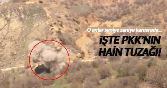 Diyarbakır'da yol kenarına tuzaklanan patlayıcı imha edildi