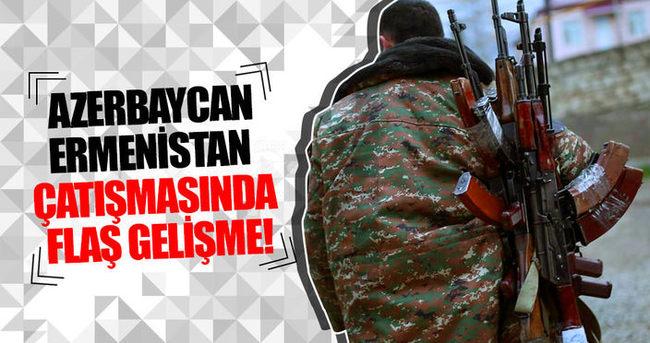 Azerbaycan-Ermenistan çatışmasında flaş gelişme!