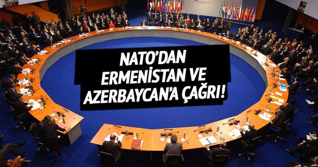 NATO'dan Ermenistan ve Azerbaycan'a çağrı