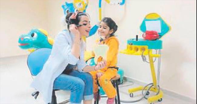 Çocukların en iyi dostu diş hekimleri