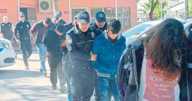 Polisleri yaralayan PKK'lılar yakalandı