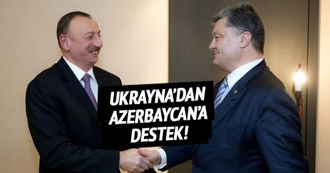 Ukrayna'dan Azerbaycan'a destek!