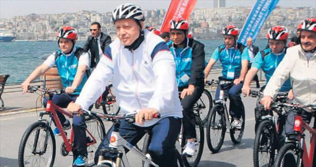 Cumhurbaşkanı pedal çevirecek