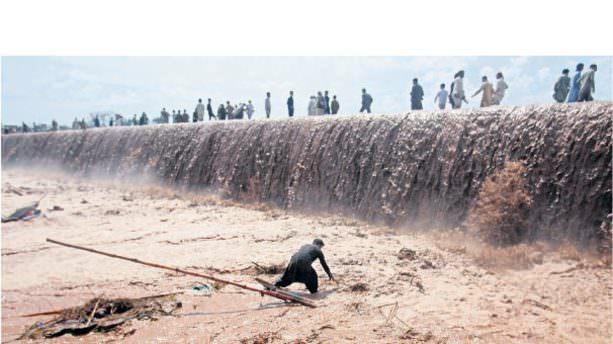 Pakistan'daki şiddetli yağışlar