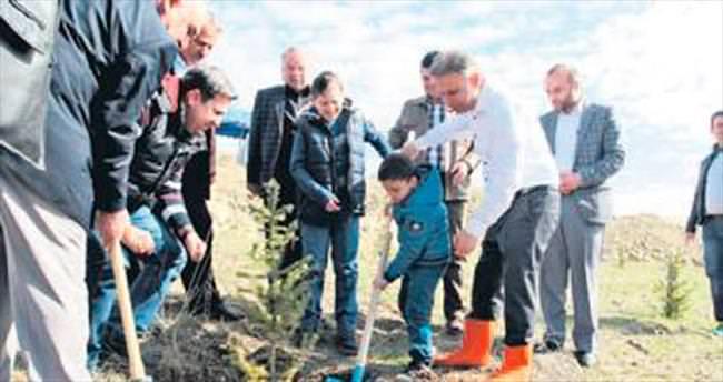 Kazan'da bahar yüzünü gösterdi