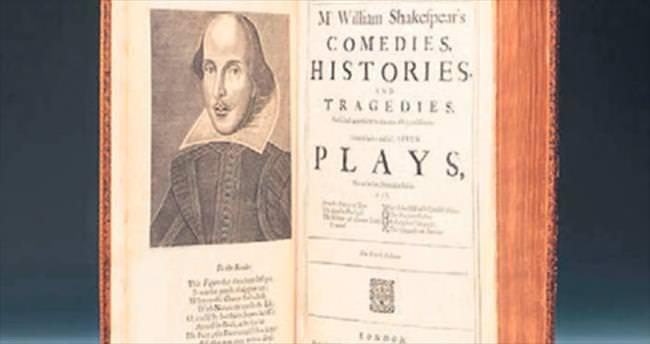 Shakespeare'in ilk baskısı İstanbul'da satılıyor