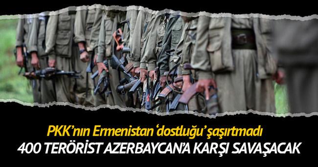 PKK'dan Ermenistan'a terörist desteği