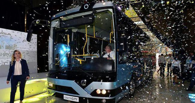 Temsa'nın elektrikli otobüsü MD9 elektriCITY yollarda