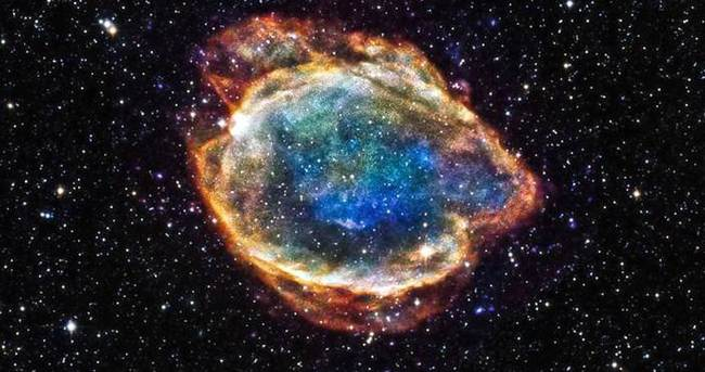 Patlayan yıldızlar Dünya'da iz bırakmış