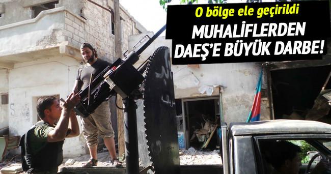 Muhalifler Çobanbey'i DAEŞ'ten geri aldı