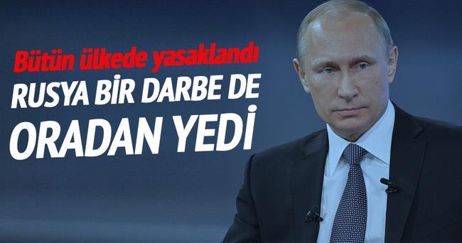 O ülkeden Rusya'ya şok! Yasaklandı