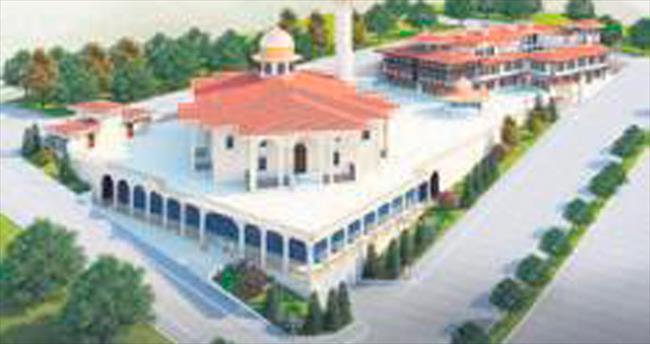 Karadeniz'in en büyük camisi