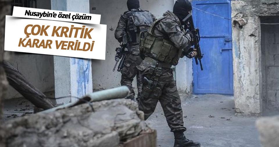 PKK'nın bomba tuzakladığı Nusaybin'e özel müdahale