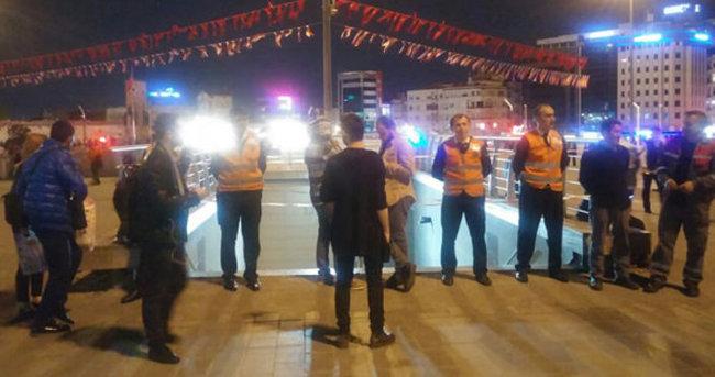 Yenikapı-Osmanbey metro seferleri normale döndü