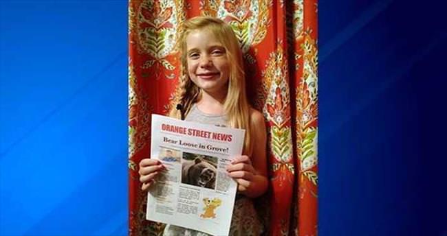 9 yaşındaki gazeteci cinayet mahallinde