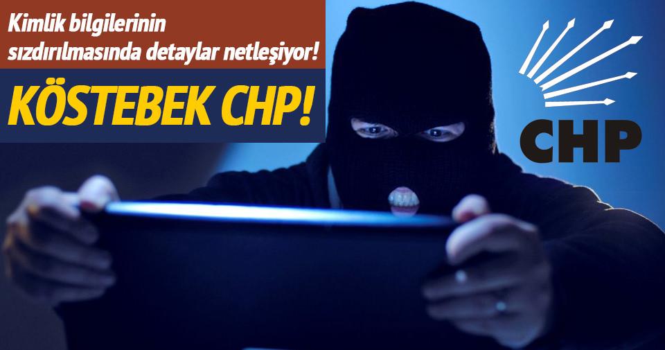 46 milyon vatandaşın bilgisini CHP paylaştı
